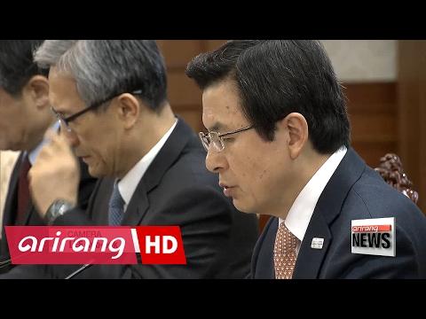 S. Korea's acting president condemns N. Korea for murder of Kim Jong-nam