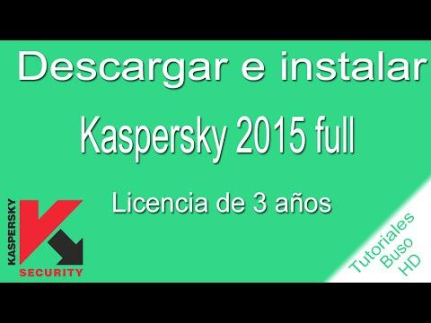Descargar e instalar Kaspersky Internet Security 2015 (FULL) (ESPAÑOL) (3 AÑOS DE LICENCIA)