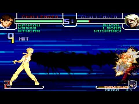 KOF 2002 - All Characters Golden Super Power ( Kensou HSDM Glitch )
