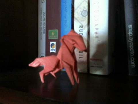 How To Make Origami Horse Origami Youtube