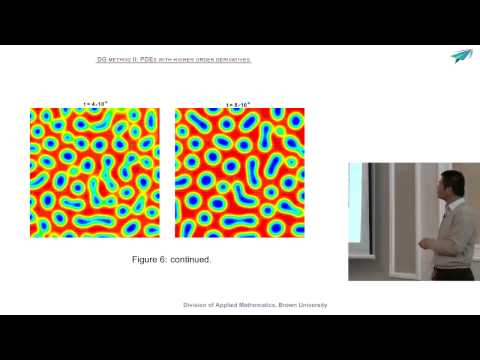 Chi Wang Shu: High order schemes for convection dominated problems. Lecture 3. September, 23, 2013