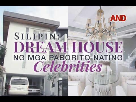 Dream house ng paborito nating celebrities