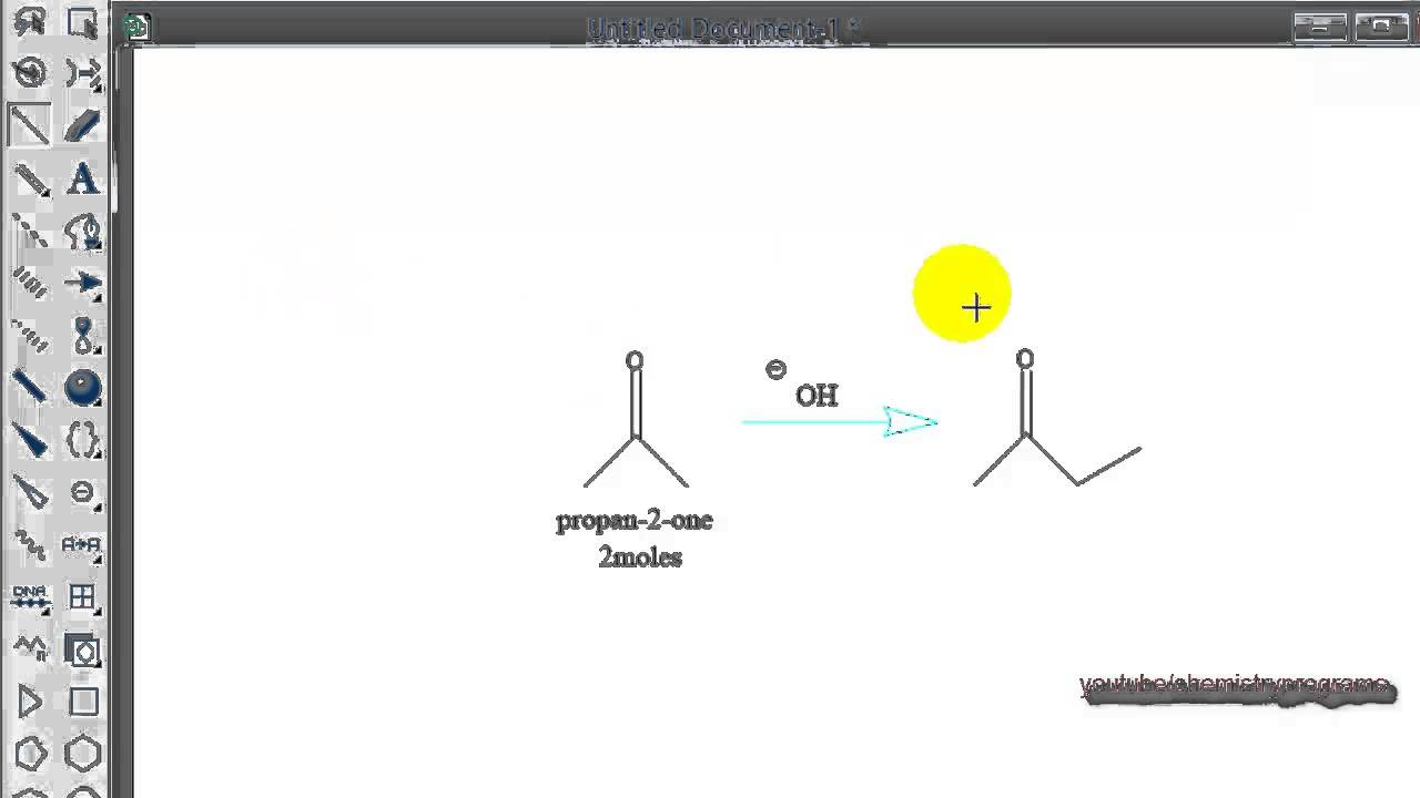 Chemdraw Tutorial 15 Drawing Chemical Reaction Youtube