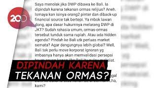 Tolak DWP di Bali, Jerinx SID: Kami Sudah 2x Dibom!
