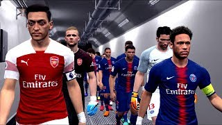 Arsenal vs PSG - International Champions Cup 2018 Gameplay