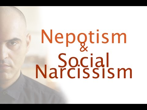 Nepotism and social narcissism
