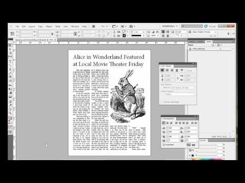 Titles and Pull Quotes in Adobe InDesign