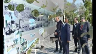 Ilham Aliyev opens Heydar Aliyev Center in Sabirabad