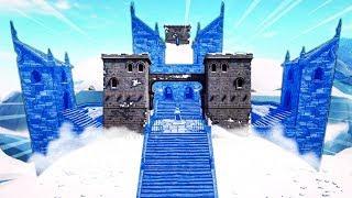 NEW MELTING ICEBERG EVENT IN FORTNITE! (POLAR PEAK MELTING INTO A CASTLE!)