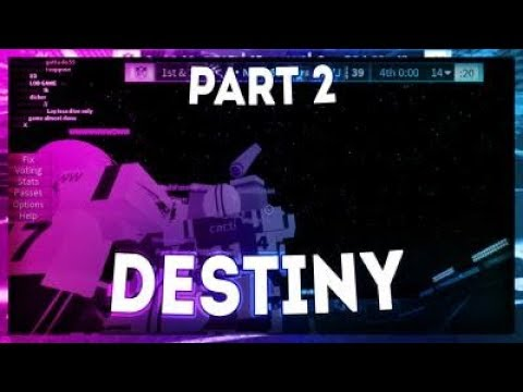 Legendary Football Highlights Destiny Part 2 Roblox Youtube