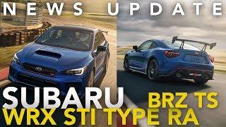 Subaru WRX STI Type RA/BRZ tS, Toyota Supra Interior Spied, Hyundai Veloster N: Weekly News Roundup