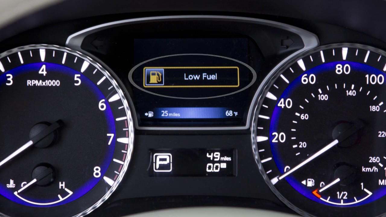 2018 Infiniti Qx60 Fuel Functions