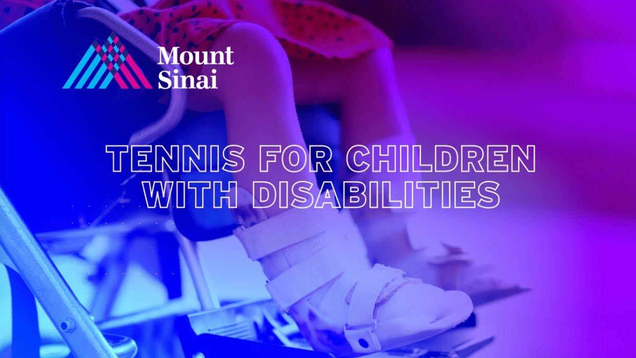 Tennis for Children with Diabilities