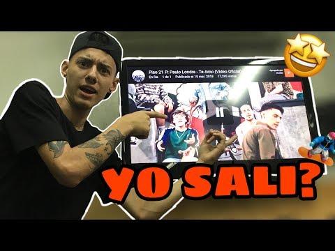 Piso 21 Ft Paulo Londra - Te Amo Video Reaccion *yo sali?* | JuanDiazsk8