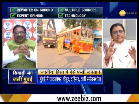 Mumbai brought to a standstill after protest against Pune caste violence:Watch special debate