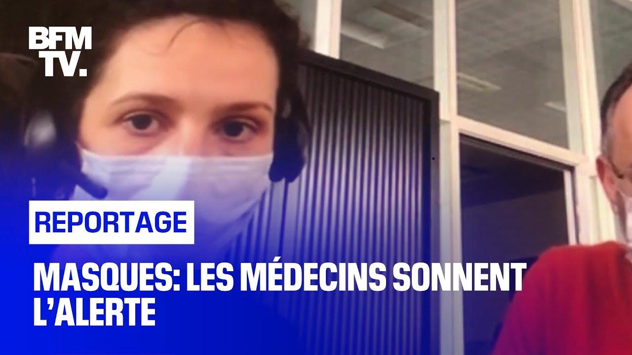 Masques: Les médecins sonnent l'alerte
