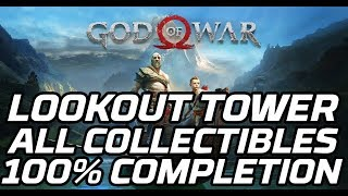 [God of War ] Lookout Tower - All Collectibles (Artefacts, Chests, Ravens, Favour)