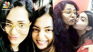 വിവാദങ്ങളെ മൈൻഡ് ചെയ്യാതെ ഷൂട്ടിംഗ് തിരക്കിൽ പാർവതി | Parvathi With Nazriya Nazim | Latest News