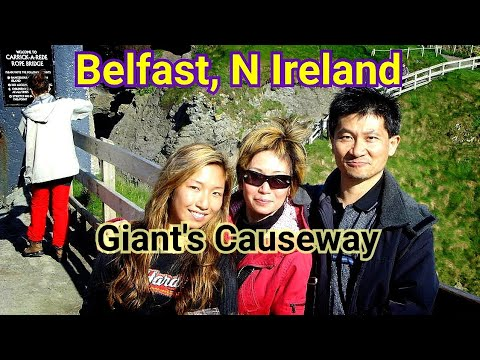 A Short Stay To Belfast By Car Ferry, 2008 ─ Giant's Causeway