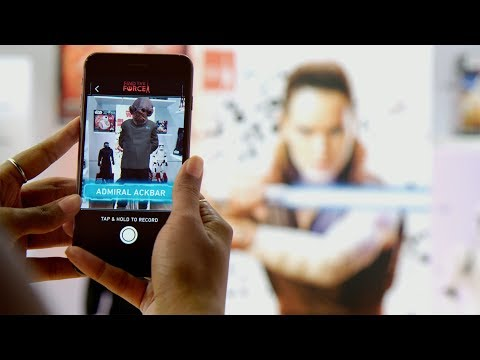 'Find the Force' w/ 'Star Wars' Augmented Reality