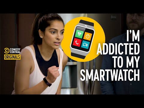 Girl Who's Too Obsessed with Her Fitness Tracker (ft. @Simmi Singh) Addiction Busters