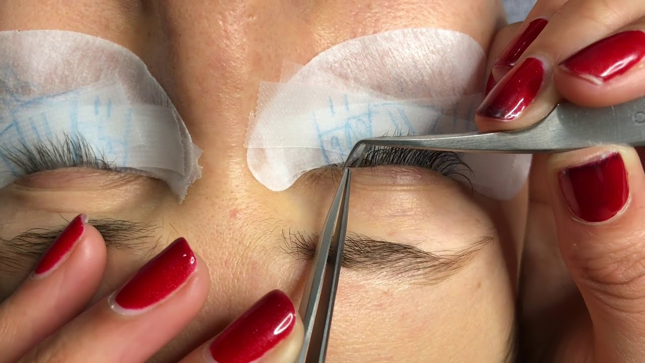 4e3841d787b Volume Eyelash Extensions Set using 3D 4D and Individuals (SMALL EYES)