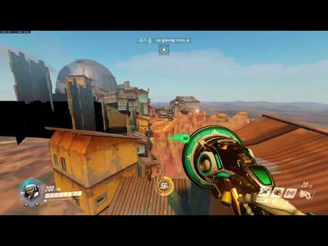 [overwatch] lucio junkertown out of map climbing