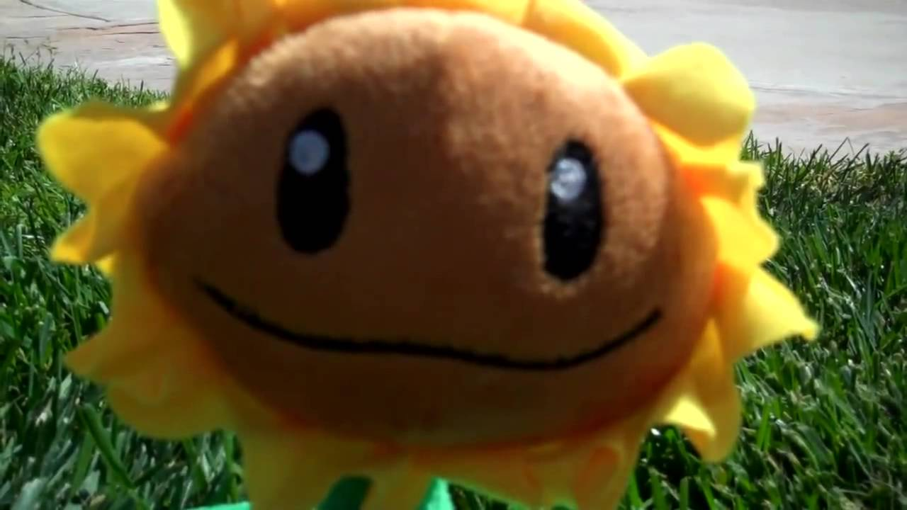Plants Vs Zombies Plushie Attack Youtube