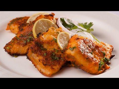 Bhetki Fish Tikka Recipe||How To Make Bhetki Fish Tikka||Tandoori Bhetki Recipe In Hindi