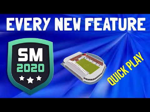 EVERY NEW FEATURE IN SM20 EXPLAINED | SM20 Beta | Soccer Manager 2020