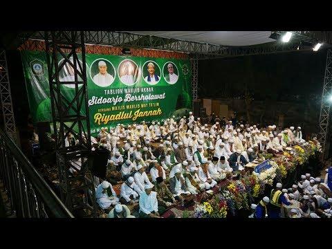 SIDOARJO BERSHOLAWAT BERSAMA KH. MUHAMMAD ARIFIN ILHAM & KH AGOES ALI MASHURI
