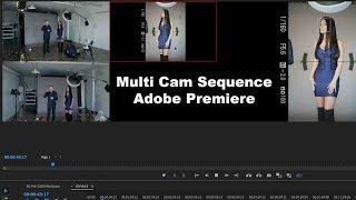 Comment Créer une Caméra Multi Séquence avec Adobe Premiere Pro CC | Couleur de qualité Audio et de Synchronisation