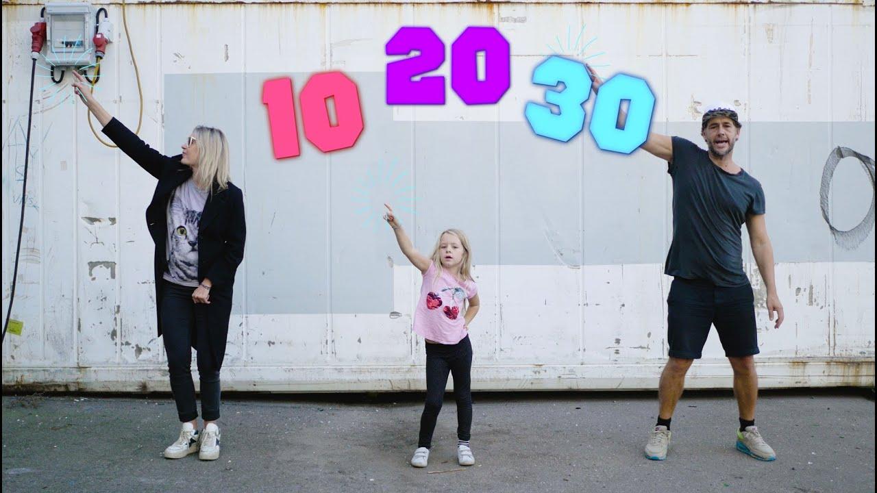 10 Tabellen|Sjov med MusmatikITabelsange, dans og klap