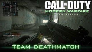 Call of Duty 4: Modern Warfare Remastered | First Match! - Team Deathmatch | Online Multiplayer