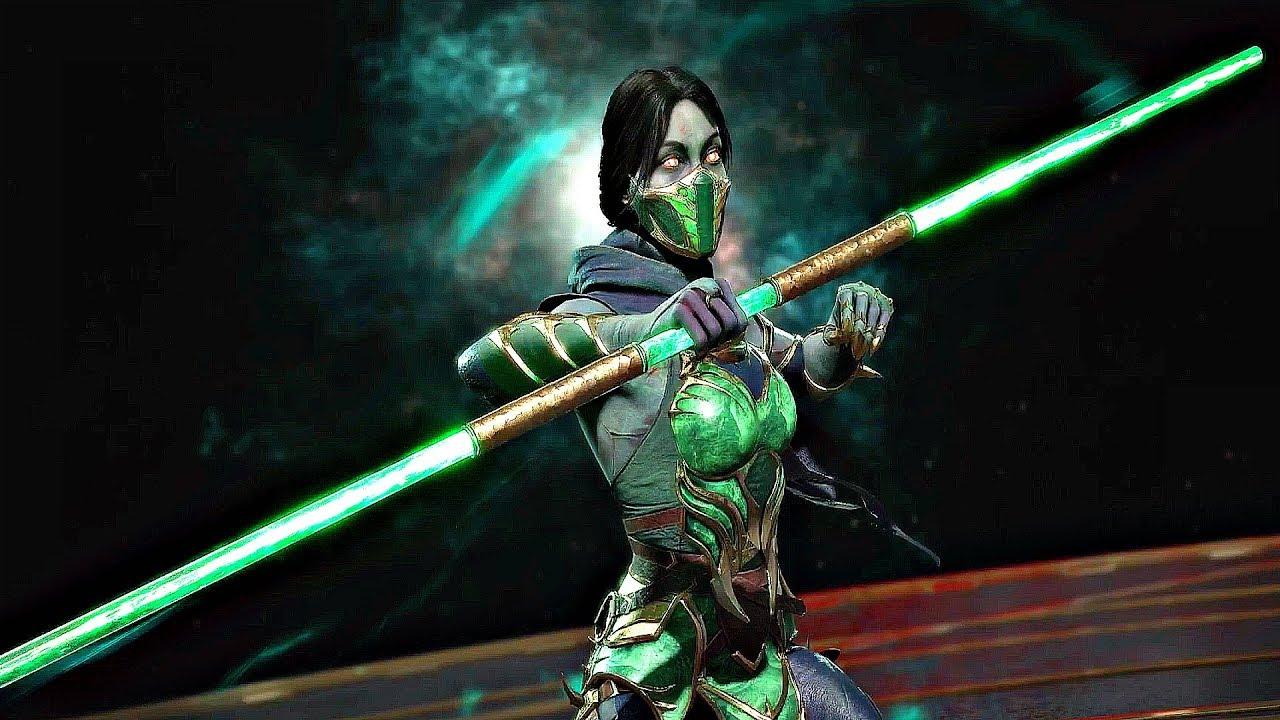 Mortal Kombat 11 Jade Customization All Intros Costumes Masks