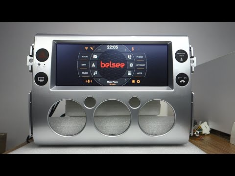 Belsee Best Navigation System For Toyota FJ Cruiser 2006-2017 Android 9.0 Auto Head Unit Stereo