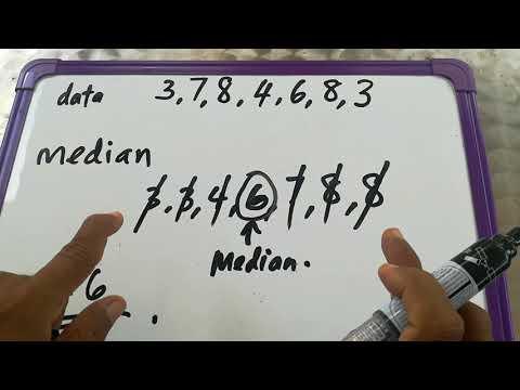 Median - Matematik tahun 5.