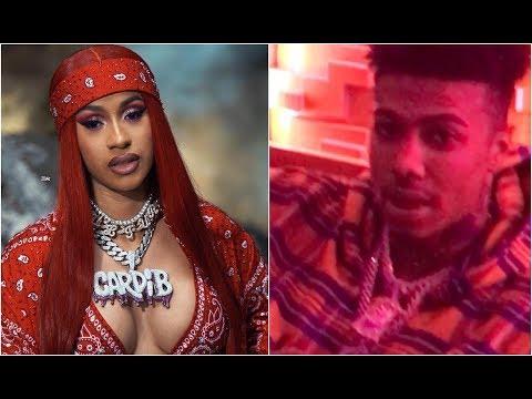 Cardi B Pulls Up On Blueface Studio Session To Remix Thotiana Better Than Nicki Minaj Mp3