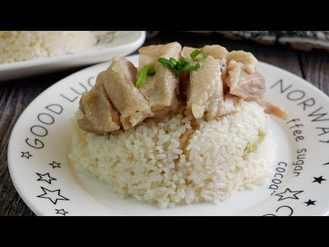 super-easy-(rice-cooker)-chicken-rice-电饭锅鸡饭-one-pot-chinese-chicken-recipe-w/-shaoxing-wine