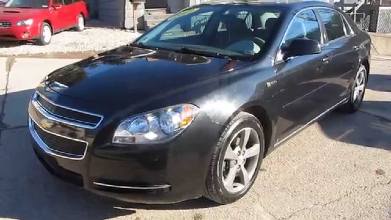 2009 Chevrolet Malibu Hybrid Elite Auto Outlet Bridgeport Ohio