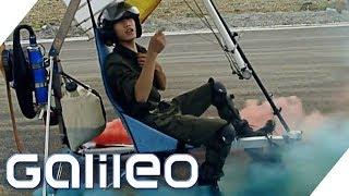 Deswegen riskieren flugwütige Aeronauten in China ihr Leben | Galileo | ProSieben