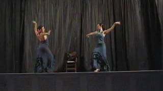 Sevillanas flamencas, presentación Escuela de Baile Danzaviva