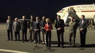 Statement Verteidigungsministerin Ursula von der Leyen