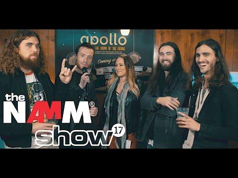 Them Evils and Shannon Gunz (SiriusXM Octane) at NAMM 2017 - Alto Music