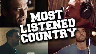Top 100 Most Listened Country Songs in July 2019