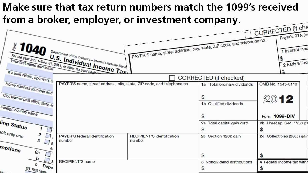 Report investment income using form 1099 youtube report investment income using form 1099 falaconquin