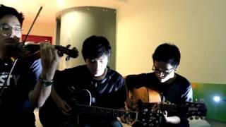 First Love - Utada Hikaru (Acoustic guitar & violin cover by Gilbert, John, and Joshua)