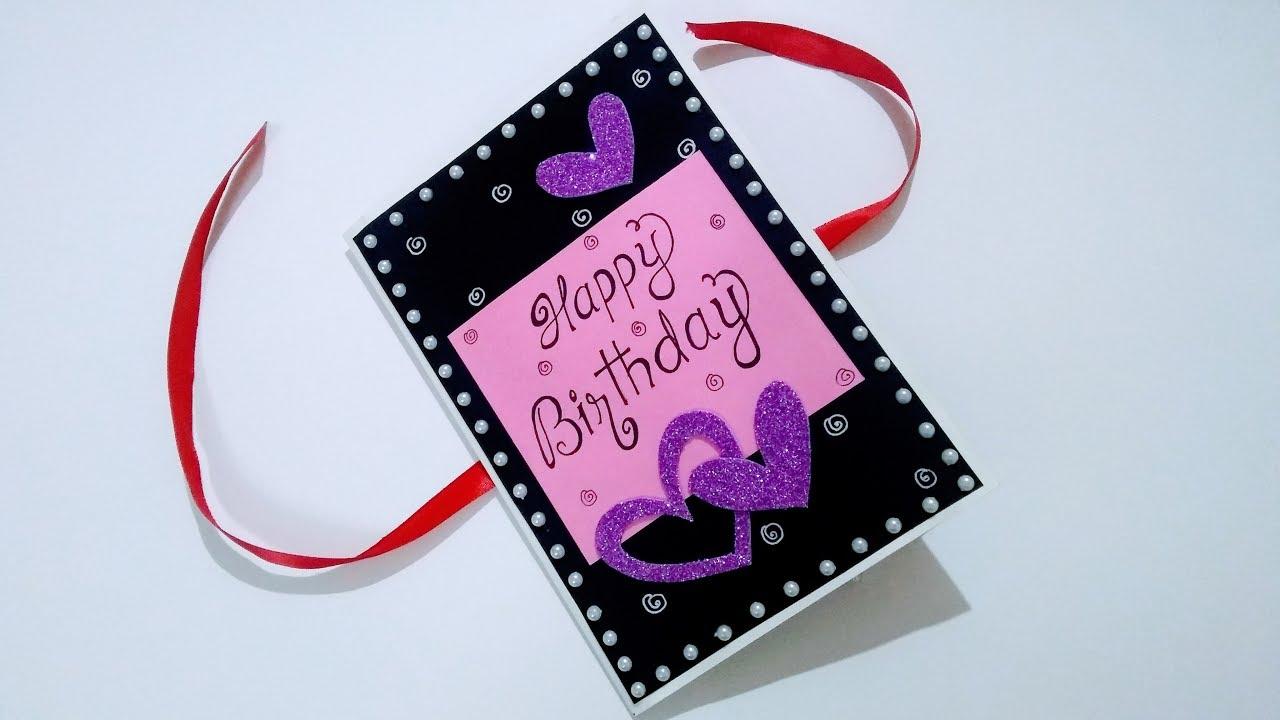 Special Birthday Card Idea For Best Friend Diy Birthday Card Idea Complete Tutorial Youtube