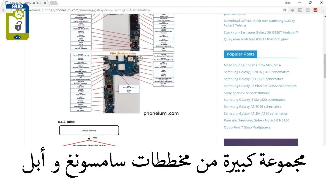 hight resolution of  samsung schematics