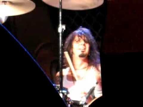 Tim DiDuro, Slaughter, drum solo at Riverfest in LaCrosse,WI